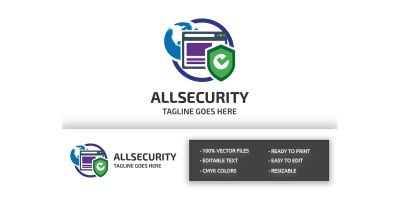 All Security Logo Template