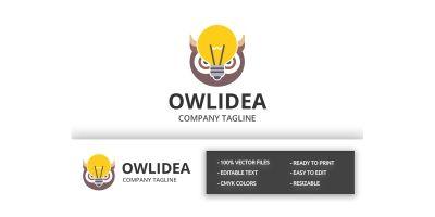 Owl Idea Logo