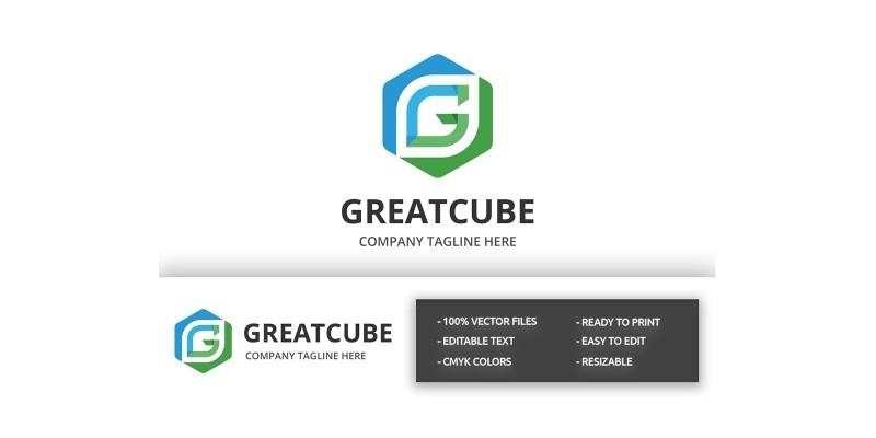 Great Cube - Letter G Logo