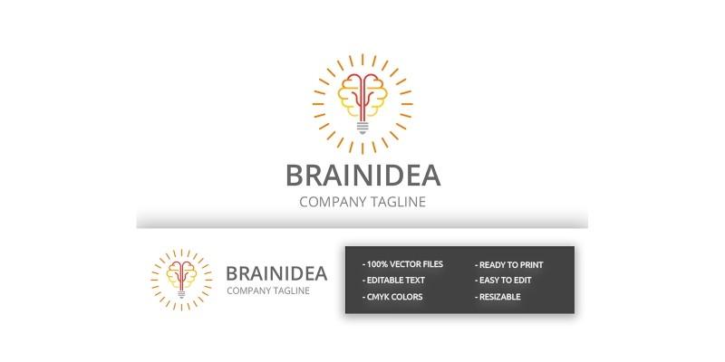 Brain Idea Logo