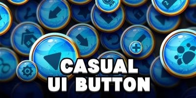 Casual UI Buttons 1