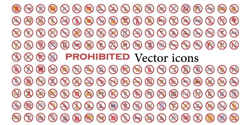 Prohibited Vector Pack