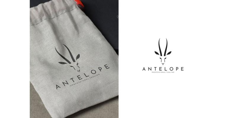 Antelope Springbok Logo Template