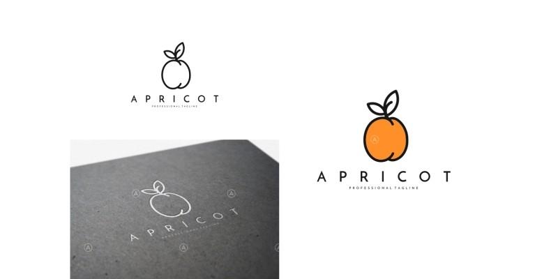 Apricot Logo Template
