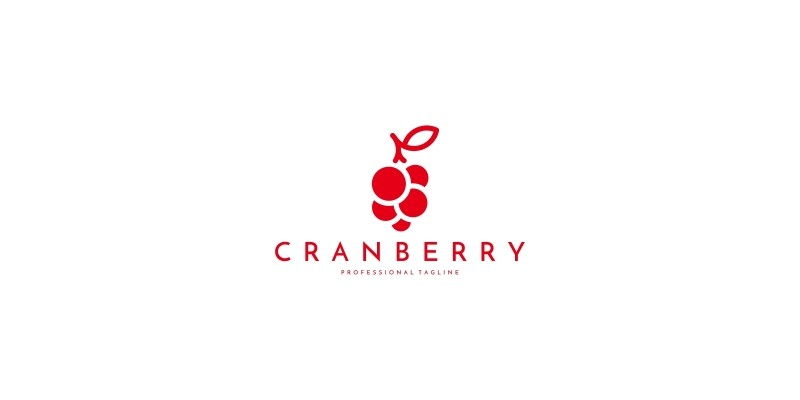 Cranberry Logo Template
