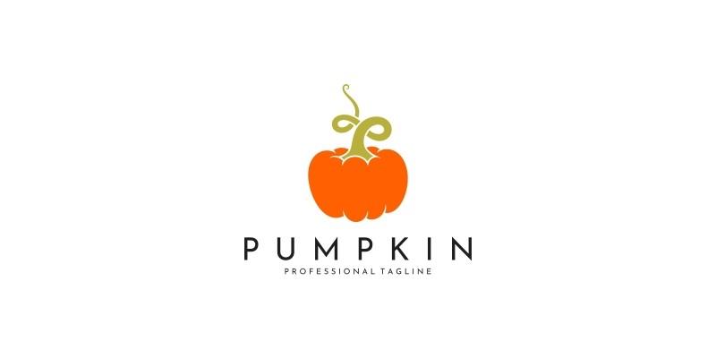 Pumpkin Logo Template
