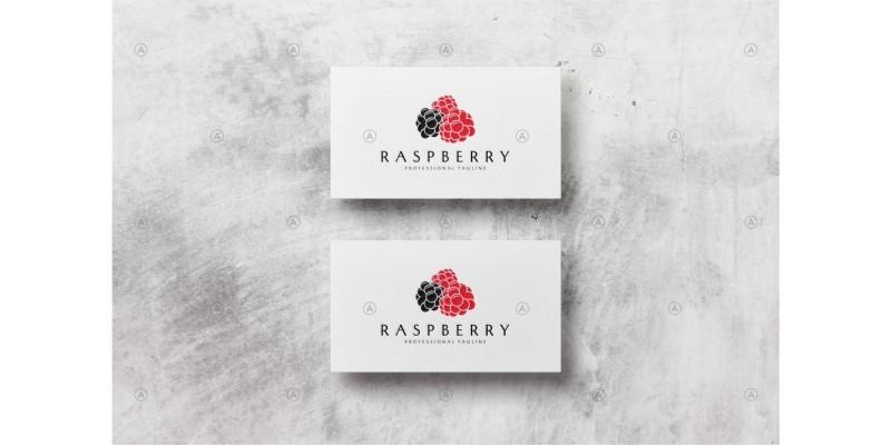 Raspberry Logo Template