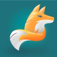 Fox Modern Logo