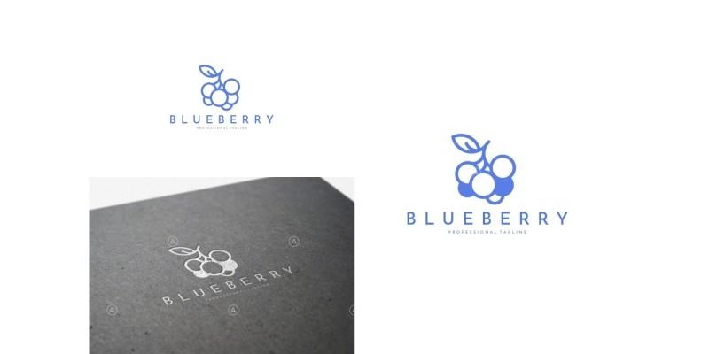 Blueberry Logo Template