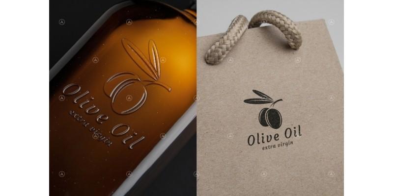 Olive Oil Logo Template