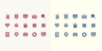 Colorfull Pastel Premium Icons