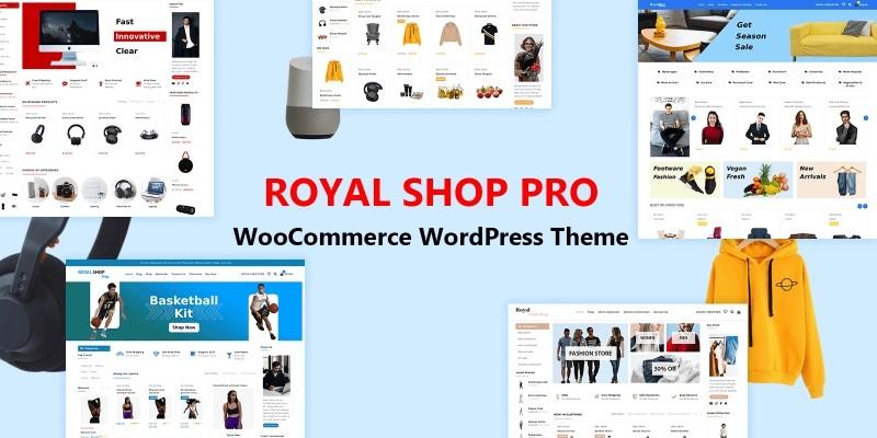 Royal Shop Pro WordPress WooCommerce Theme