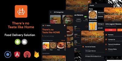 HomeChef - Multi Restaurant - Ionic 5