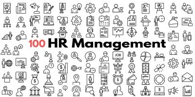 HR Management Icons Pack