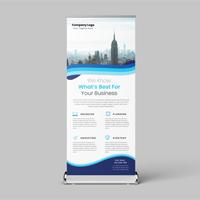 Business Roll Up Banner Design Template