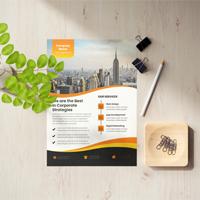 Corporate Business Flyer Design Template design