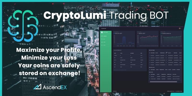 CryptoLumi - Crypto Trading Bot