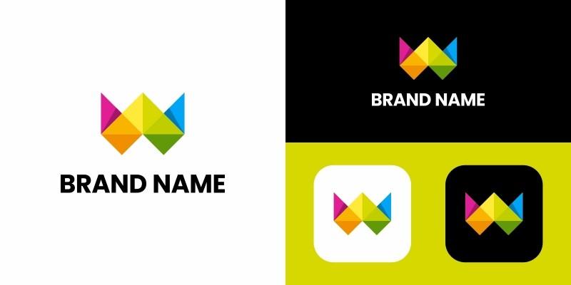 Letter W Logo Design Template