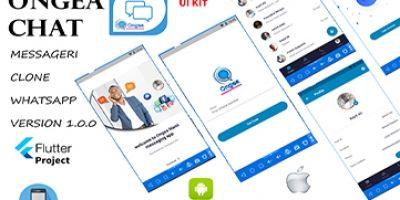 Ongea Chat Message - Flutter App Template
