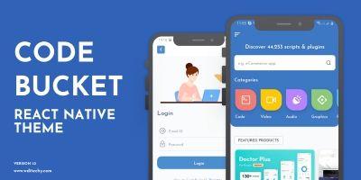 CodeBucket - Native React App Theme