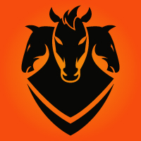 Three Horses Modern Logo