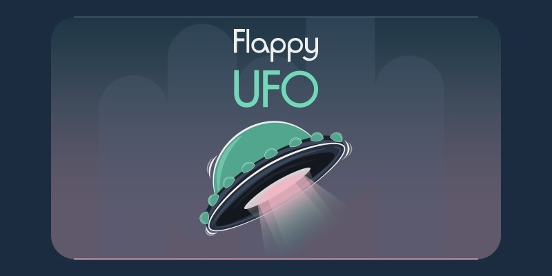 Flappy UFO  - HTML5 Construct Game