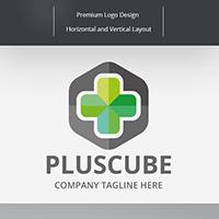 Plus Cube Logo