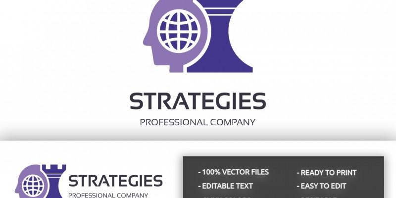 Strategies Professional Logo