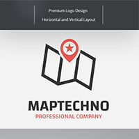 Map Techno Logo