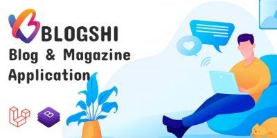 Blogshi - Blog And Magazine Application