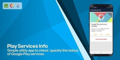 Play Services Info - Android App Template