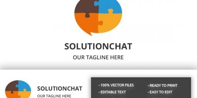 Solution Chat Logo