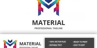 Material Letter M Logo