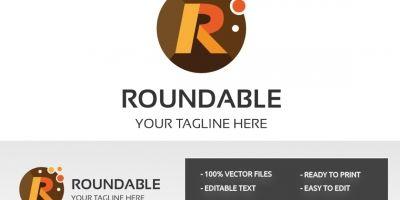 Letter R Roundable Logo