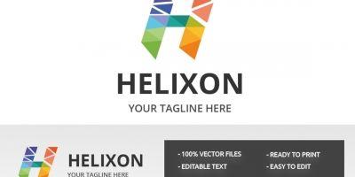 Letter H Helixon Logo