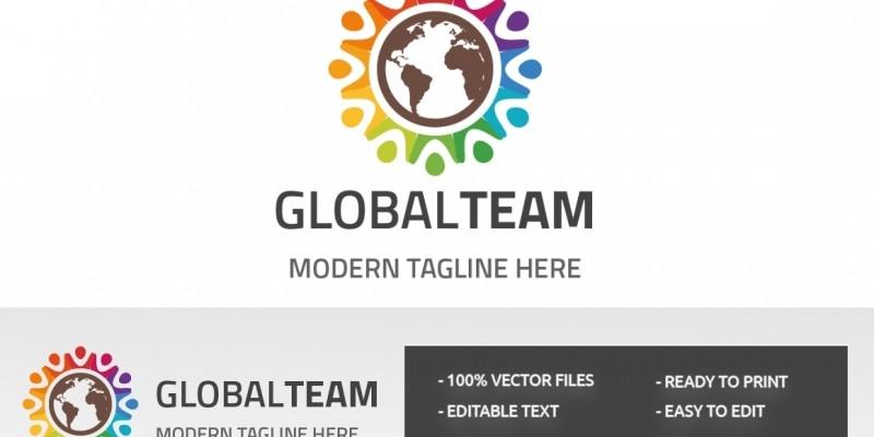 Global Team Work Logo