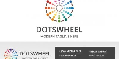 Dots Wheel Logo