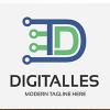 Letter D Digitalles Logo