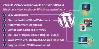 Video Watermark Plugin For WordPress