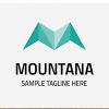 Letter M Mountana Logo