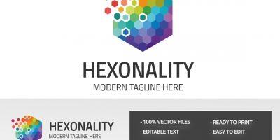 Hexonality Cube Logo