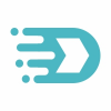 Letter D Data Logo