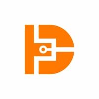 Letter D Tech Logo