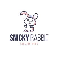 Snicky Rabbit Logo