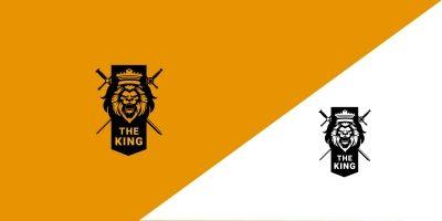 Lion Strong Creative Logo