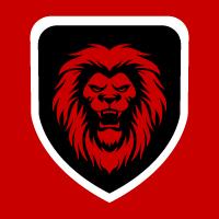 Lion King Brave Creative Logo