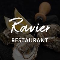Ravier Restaurant Cafe Bar WordPress Theme