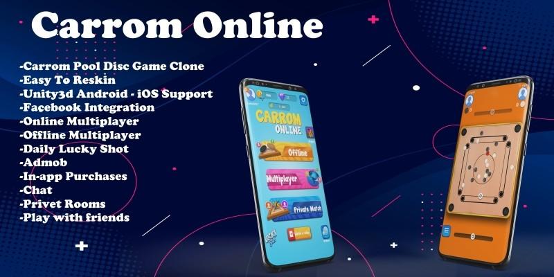 Carrom Online - Unity Source Code