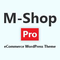 M Shop eCommerce WordPress Theme