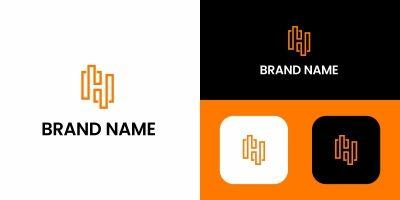 Letter H Logo Design Template